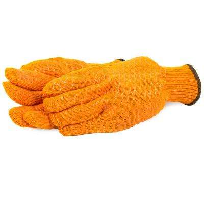 String Knit Honeycomb Gloves (Size L)