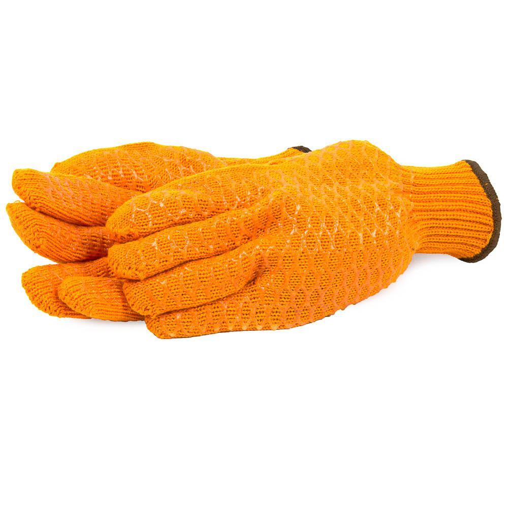 Size L String Knit Honeycomb Gloves