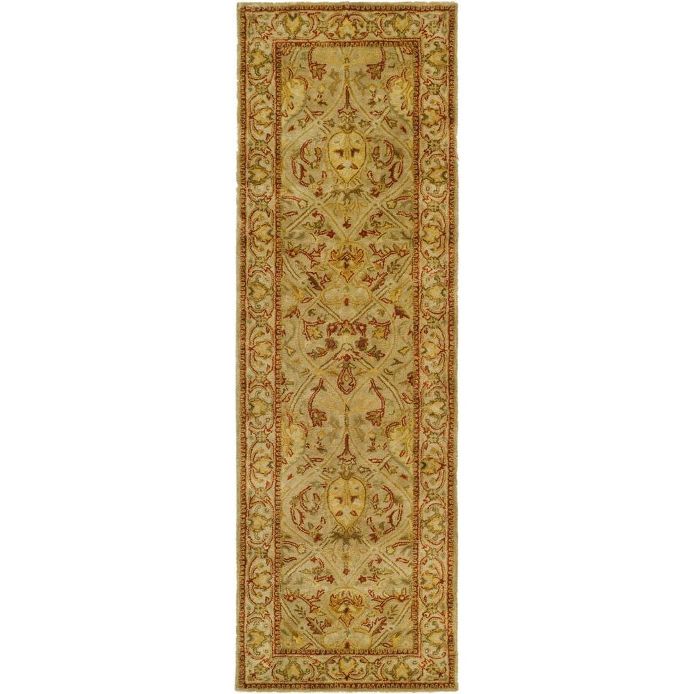 Safavieh Persian Legend Moss/Beige 2 ft. 6 in. x 8 ft. Runner