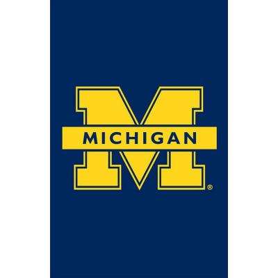12.5 in. x 18 in. University of Michigan Garden Flag