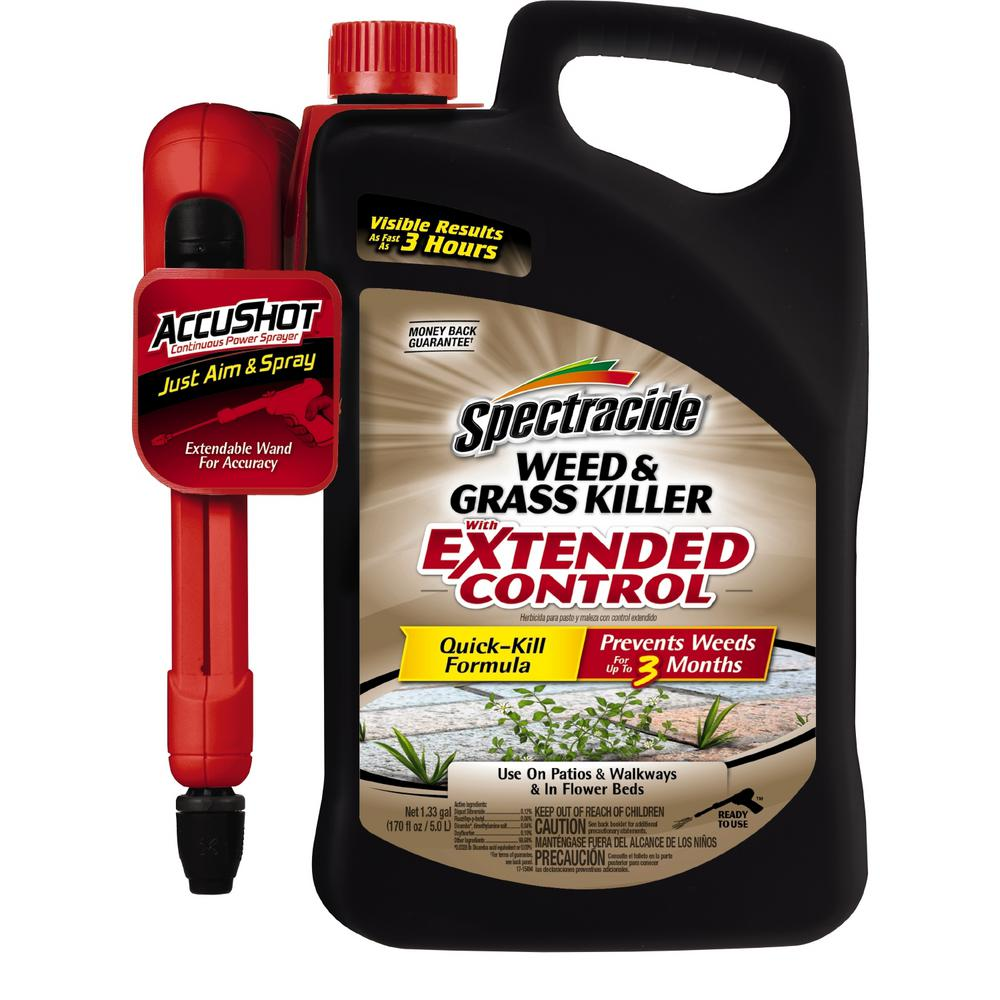 Spectracide Weed and Grass Killer 1.3 gal. Accushot Exten...