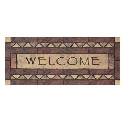 Celtic Rocks Estate Multi 19.5 in. x 47 in. Door Mat