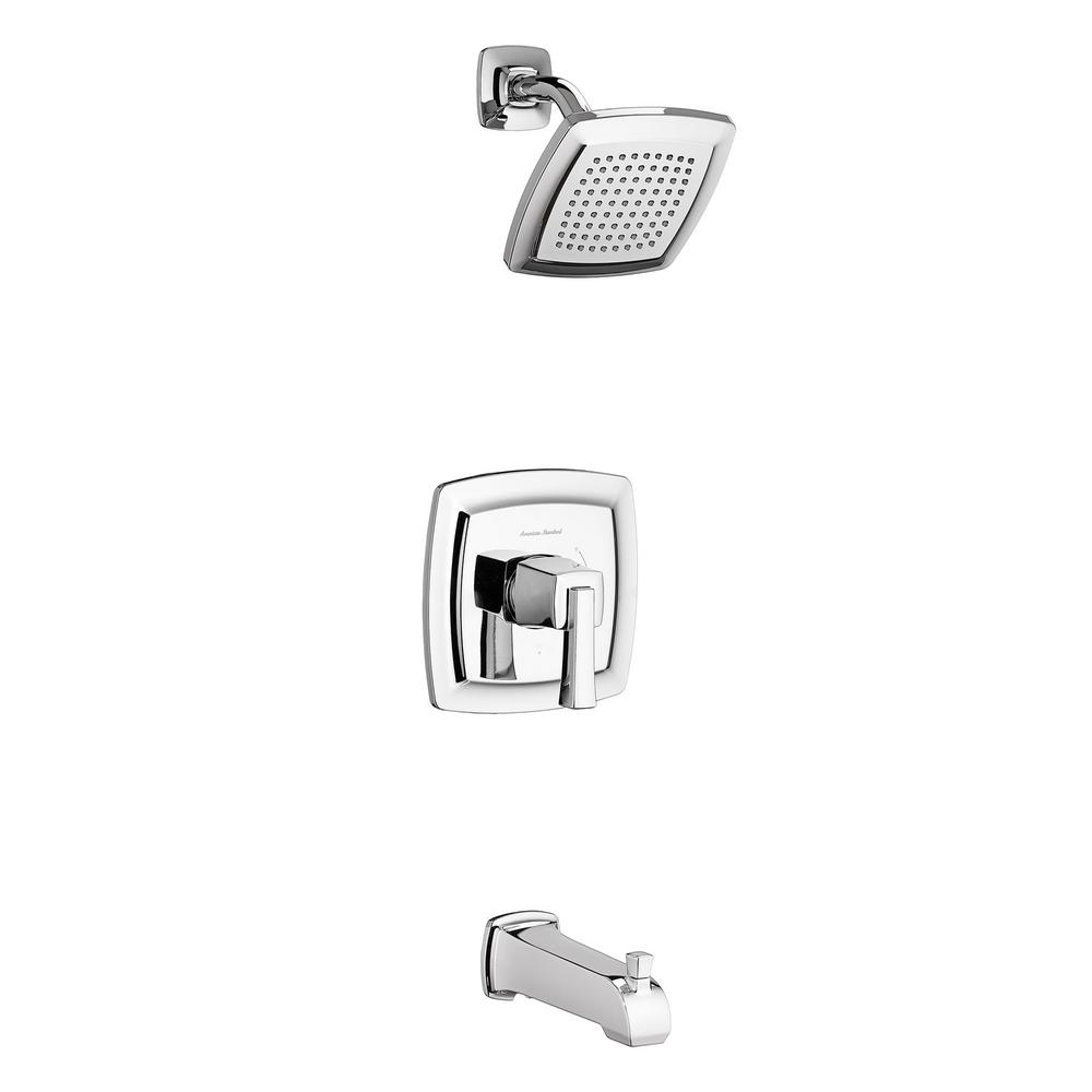 ANZZI Assai Series 1-Handle 5-Spray Tub and Shower Faucet in ...