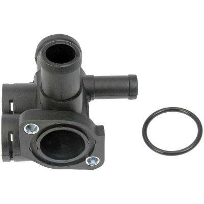 Engine Coolant Water Outlet - Front