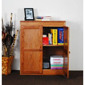 Concepts In Wood Multi-Use Storage Pantry in Dry Oak-KT613A-3060-D ...