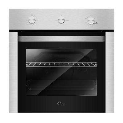 24 in. Under-Counter Gas Single Wall Oven with Rotisserie and Broil Function in Stainless Steel