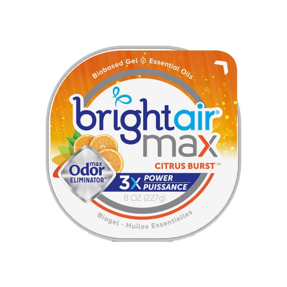 BrightAir Bright Air 8 oz. Citrus Burst Odor Eliminator, Orange