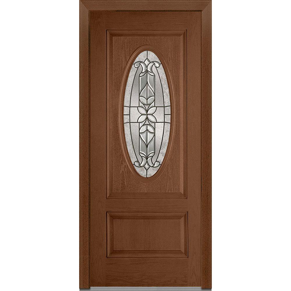 Mmi Door 37 5 In X 81 75 In Cadence Decorative Glass 3 4