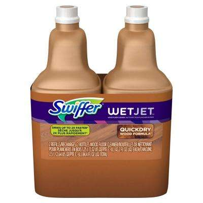 WetJet 42.2 oz. Multi-Purpose Hardwood Floor Cleaner Solution Refill (2-Pack)