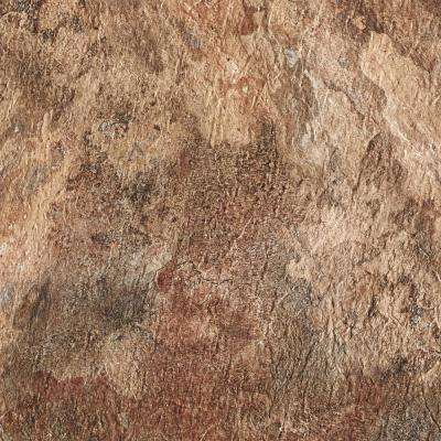 Majestic Rustic Copper Slate 18 in. x 18 in. Vinyl Floor Tiles (22.5 sq. ft./case)