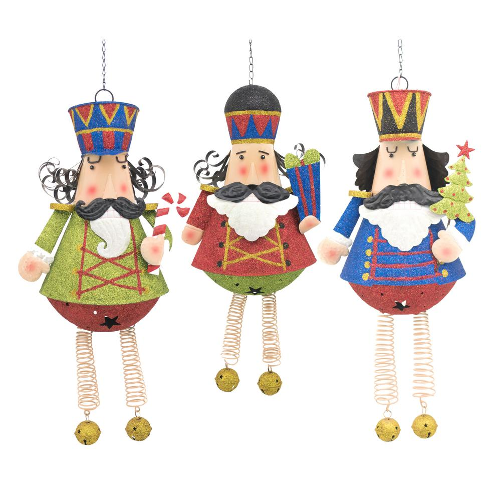 Zaer Ltd. International 3 ft. Set of 3 Hanging Christmas Nutcrackers ...