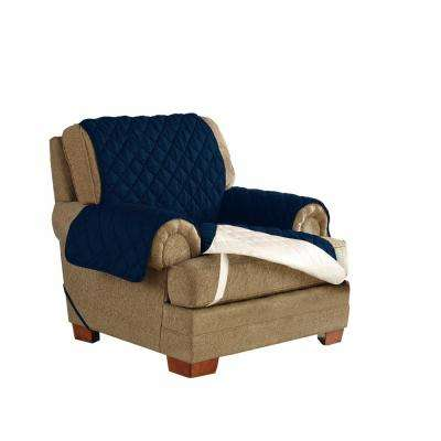 Navy Ultimate Waterproof Furniture Protector Treated with NeverWet Chair