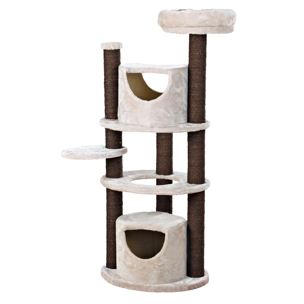 Light Gray Sofia Cat Tree Cat Furniture