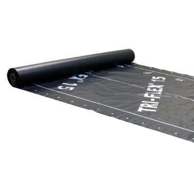 48 in. x 250 ft. Tri-Flex 15 Roll Synthetic Roofing Underlayment