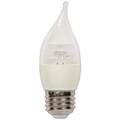 40W Equivalent Warm White CA11 Dimmable LED Light Bulb