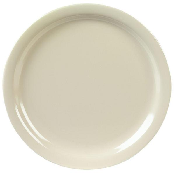 Carlisle 9 in. Diameter, 0.77 in. H Melamine Dinner Plate in