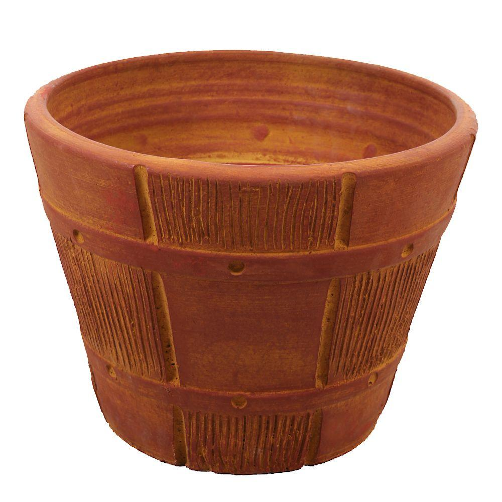 Rescue 85 Gal Terra Cotta Waterurn Decorative Urn Rain