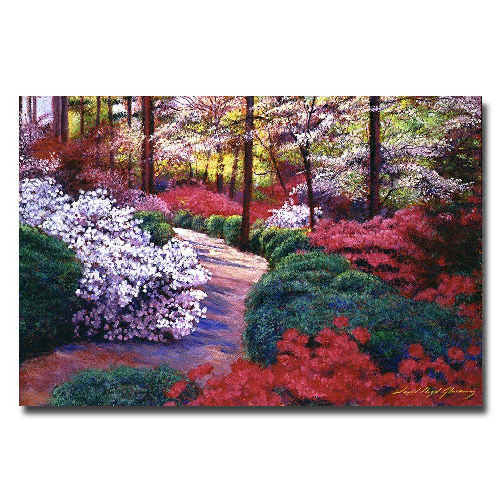 22 in. x 32 in. April Beauties Canvas Art