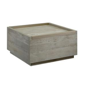 Manhattan Gate 32 in. Mystic Oak Medium Square Composite Coffee Table with Drawers