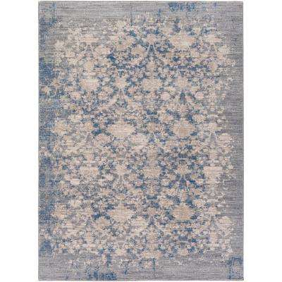 Unique Denim Blue - Area Rugs - Rugs - The Home Depot UF68