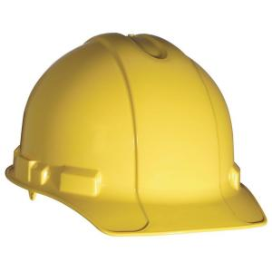 3M Yellow Non-Vented Hard Hat with Pinlock Adjustment by 3M