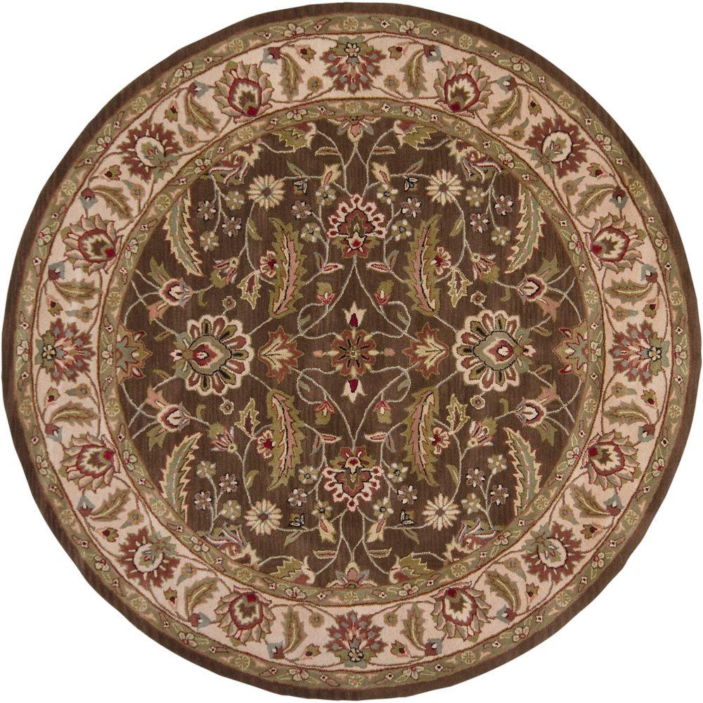 Artistic Weavers John Brown 8 ft. x 8 ft. Round Area Rug
