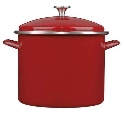 Chef's Classic 12 Qt. Steel Stock Pot No Additional Features