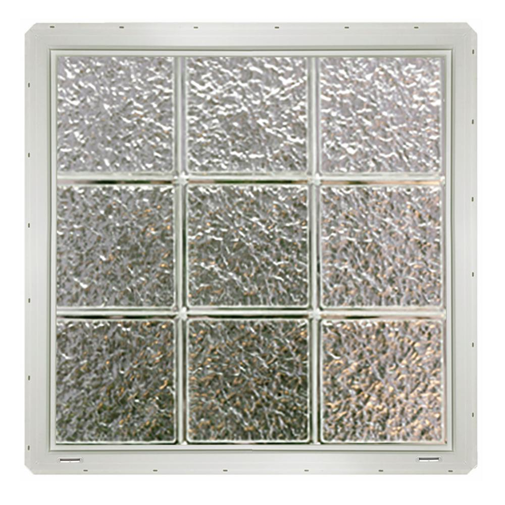 decorative windows for bathrooms pittsburgh corning glass.htm crystalok 46 75 in x 24 25 in x 3 25 in wave pattern glass  24 25 in x 3 25 in wave pattern glass
