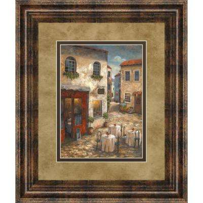 "34 in. x 40 in. ""Evening Allure I"" by Vivian Flasch Framed Printed Wall Art"