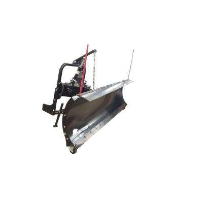 88 in. x 26 in. Snow Plow with 2-Point Custom Mount and Hydraulic Lift System