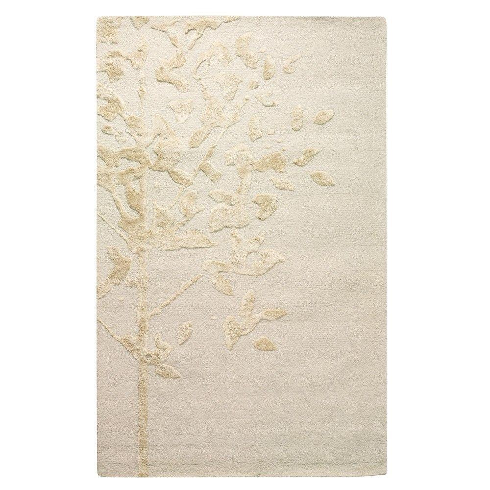 Home Decorators Collection Woodland White 8 ft. x 11 ft. Area Rug