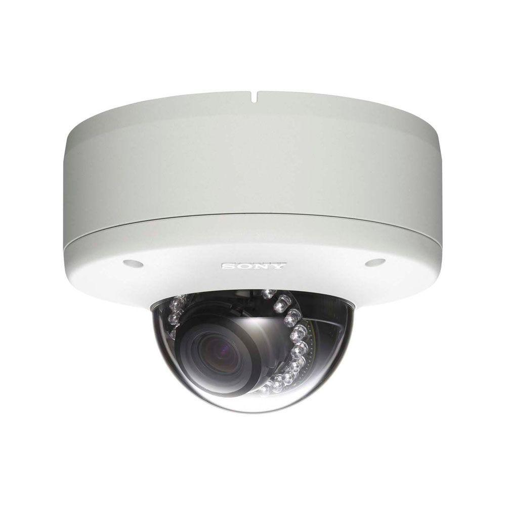 SONY Wired 1080p HD Indoor/Outdoor Vandal-Resistant Mini-Dome Security Surveillance Camera