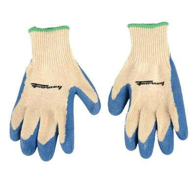 Latex Coated String Knit Gloves (Size S)