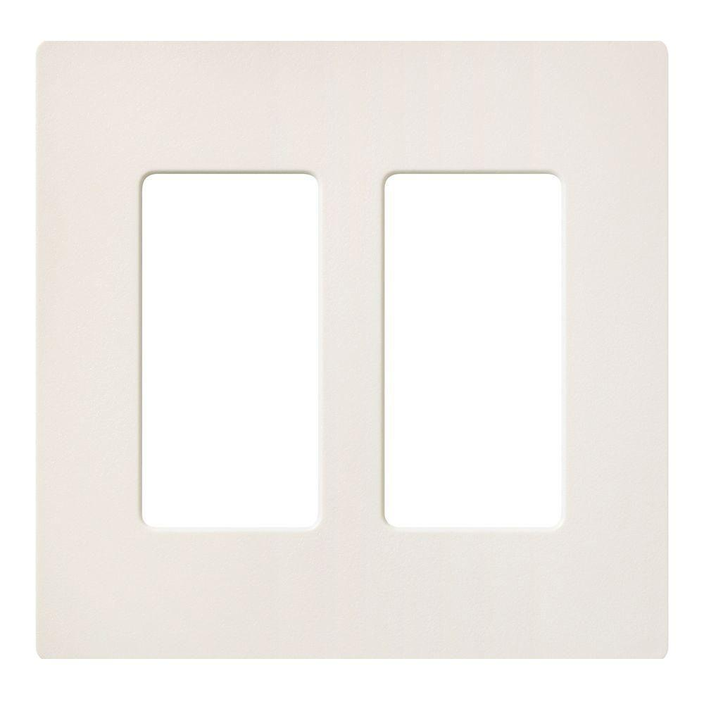 Biscuit Switch Plates Wall The Home Depot Light Switchplates Outlet Covers Wallplates Claro 2 Gang Decorator Wallplate