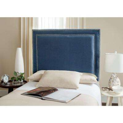 Cory Navy Twin Headboard