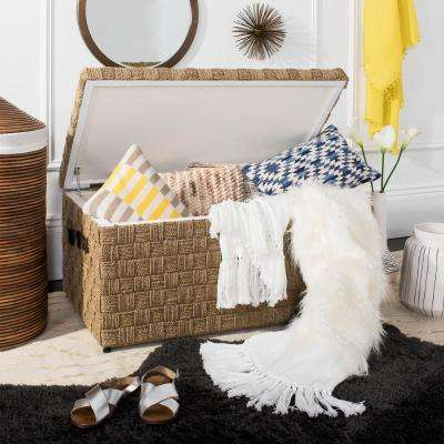 Faux Fur Alexi Bed Runner White Throw