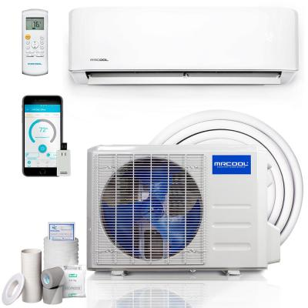 Advantage 3rd Gen 36,000 BTU 3-Ton 16 Seer Ductless Mini-Split Air Conditioner and Heat Pump 230-Volt/60 Hz