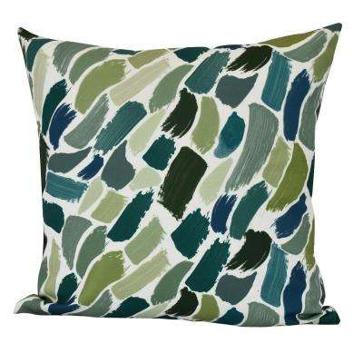 18 in. Wenstry Geometric Print Decorative Pillow