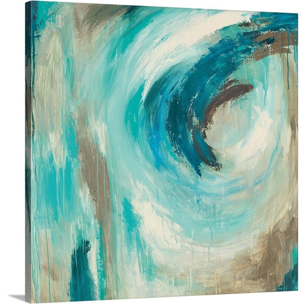 """Blue Hawaii"" by Wani Pasion Canvas Wall Art"