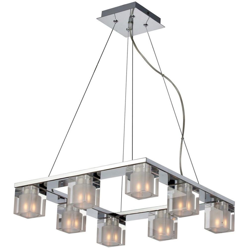 Blocs 8-Light Pendant