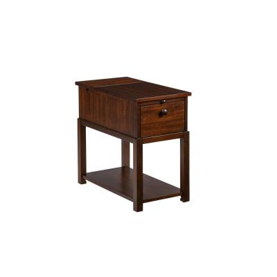 Chairsides II Regal Walnut Chairside Table