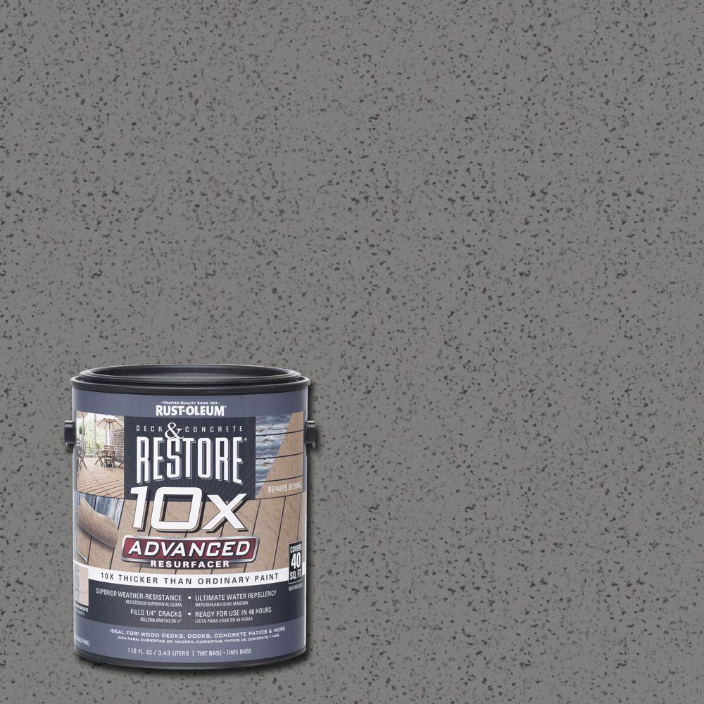 1 gal. 10X Advanced Kensington Deck and Concrete Resurfacer