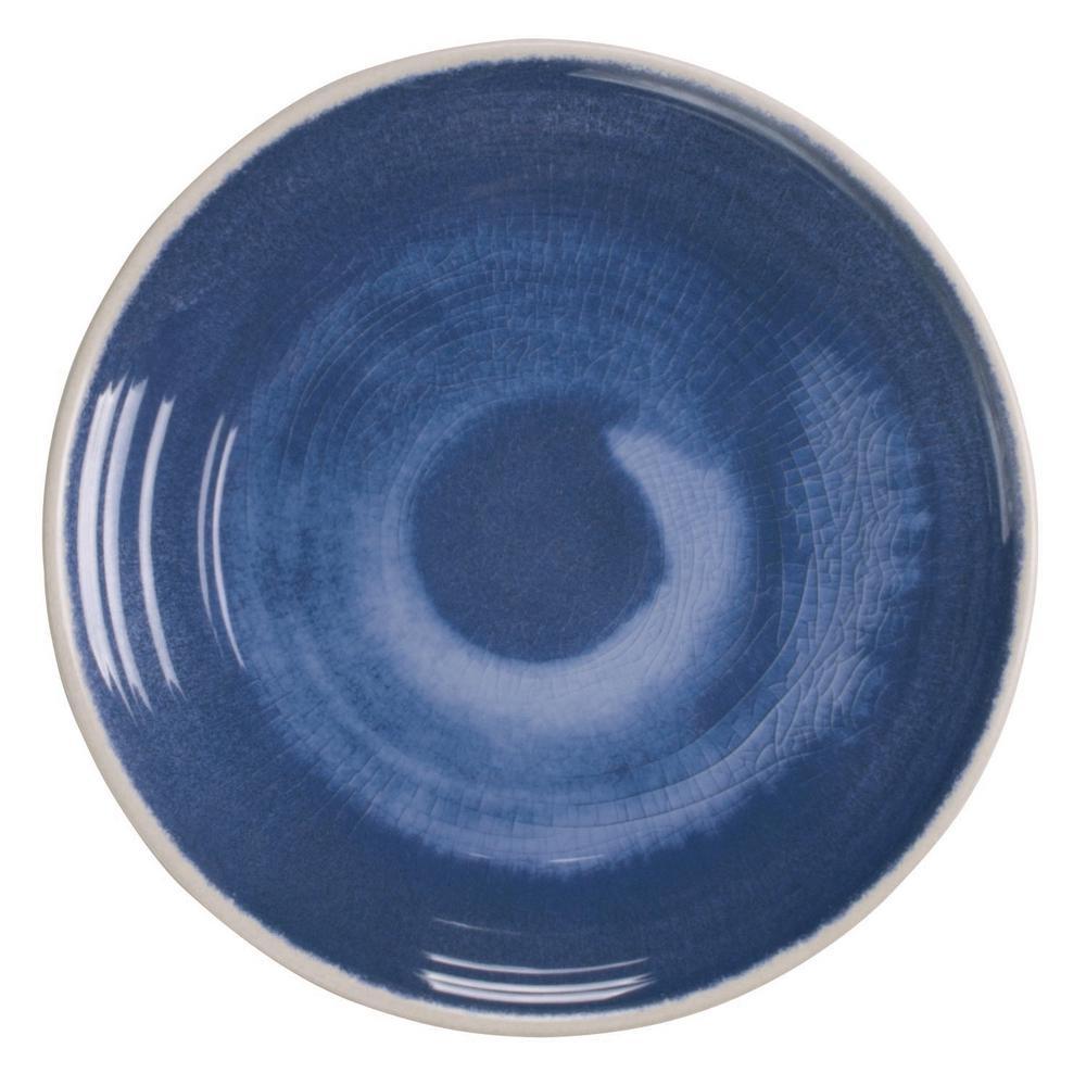 Raku Blue Melamine Dinner Plate (Set of 6)