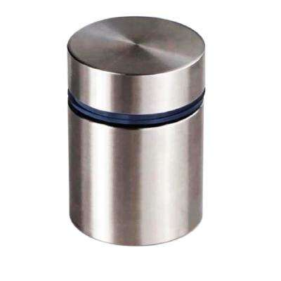 1 in. Dia x 1-1/4 in. L Stainless Steel Standoffs for Signs (60-Pack)