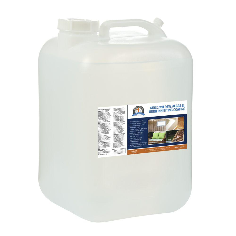 Bare Ground 5 Gal. 1 Shot N Gone Mold/Mildew/Algae Inhibiting Coating Container