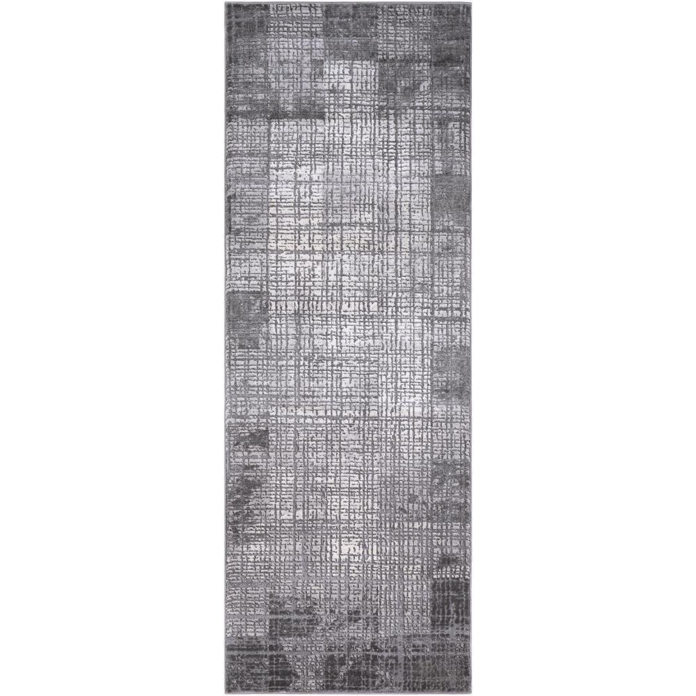 Durant Gray 3 ft. x 8 ft. Runner Rug