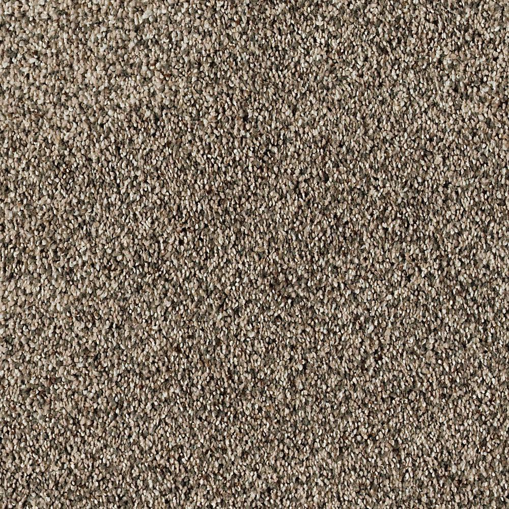 Carpet Sample - Briarmoor II - Color Flintstone Texture 8 in. x 8 in.