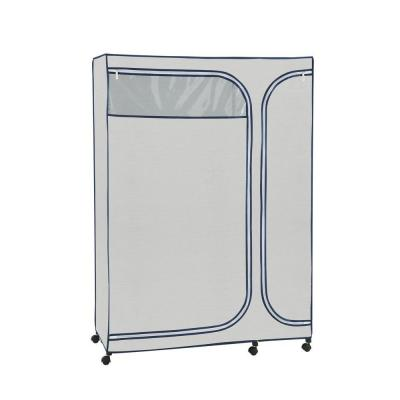 0150c312814 Whitmor Canvas Supreme 36 in. W x 65.5 in. H Garment Rack Cover ...