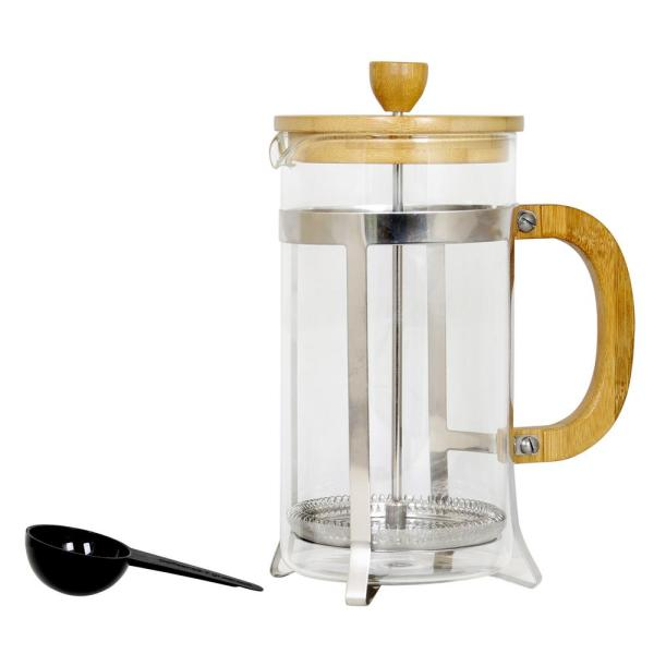 Mr. Coffee Bamboo Caf 33 oz. Clear Coffee Press 985105357M