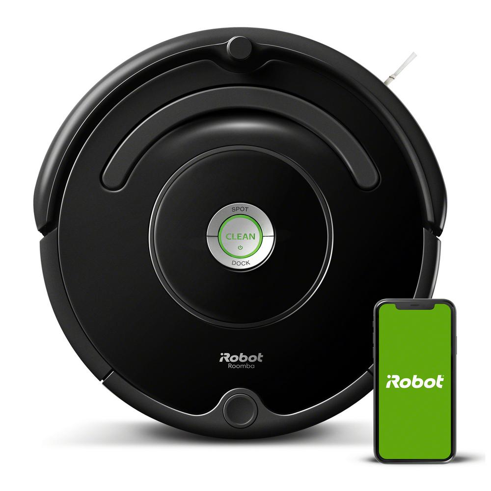 Roomba 675 Wi-Fi Connected Robot Vacuum Cleaner